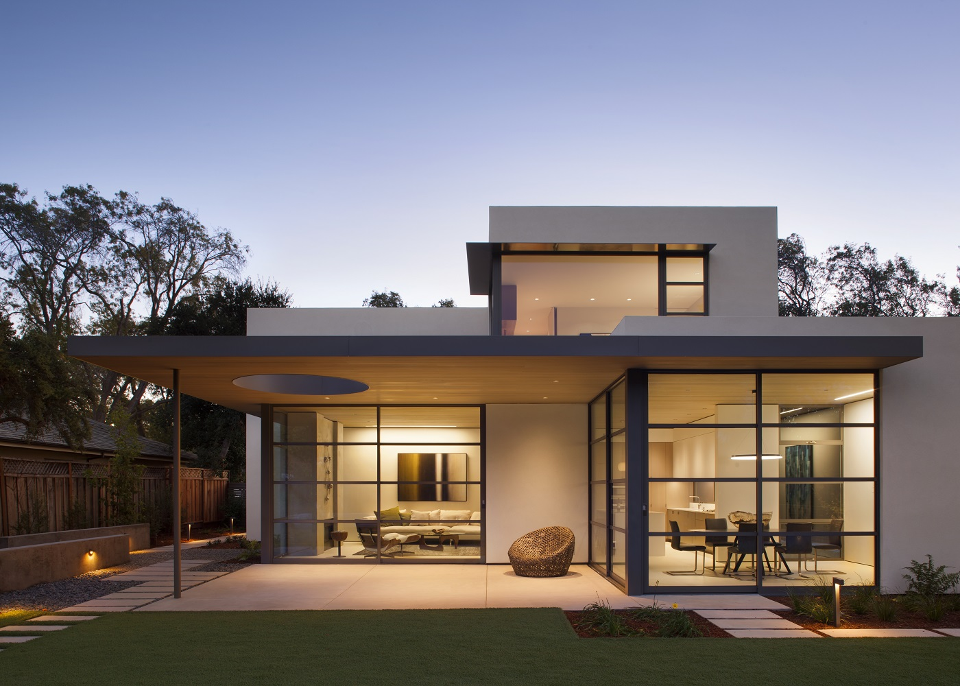 palo alto lantern house feldman architecture. Black Bedroom Furniture Sets. Home Design Ideas