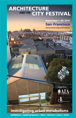 Architecture and the City Festival, September 14th