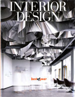Interior Design magazine honors the Caterpillar House in Best of Year