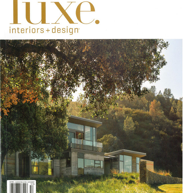 Spring Ranch on Cover of Luxe