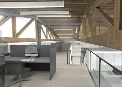 Mezzanine Work Space