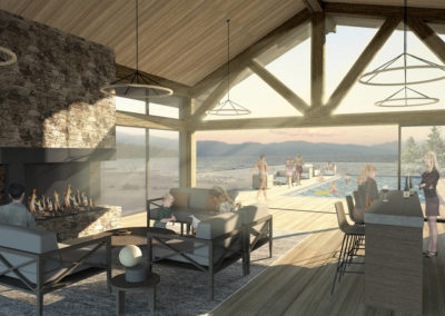 2017.05.26 Shore Club Members Lounge Rendering - Sunset