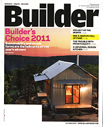 Caterpillar House awarded Builder Magazine