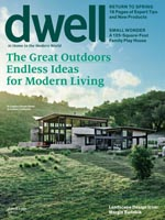 Butterfly House on the cover of Dwell!