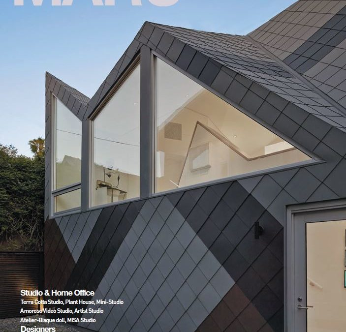 Beautiful Spread in MARU Magazine featuring the Mill Valley Cabins